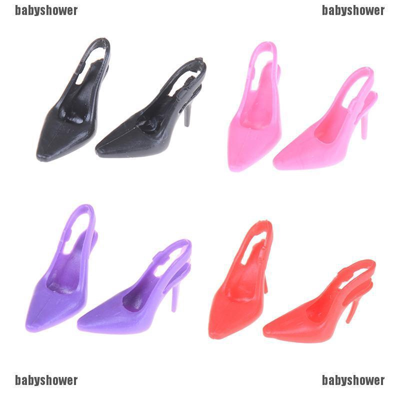 1:12 Dollhouse Miniature DIY Cabin Fittings Stiletto Shoes Toys US