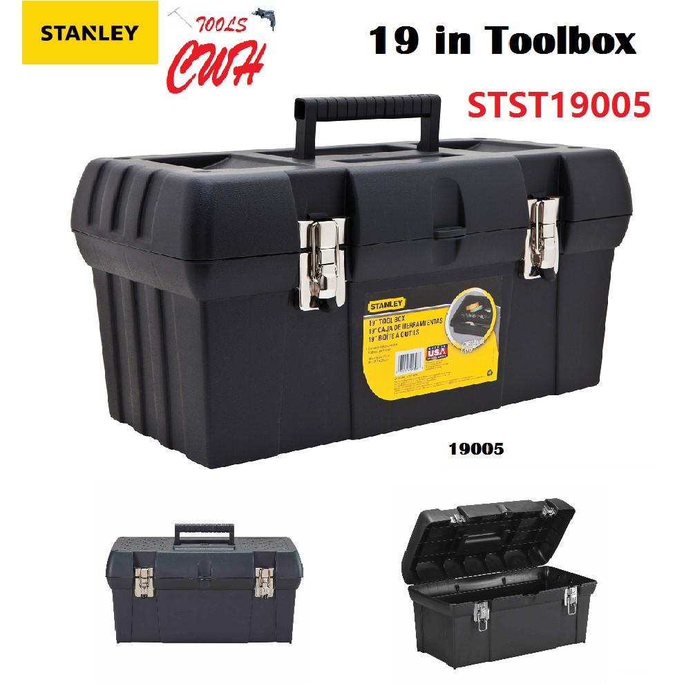 "19"" MADE IN USA STANLEY STST19005 TOOL BOX 19-005 STST 19005 92-894 92894"