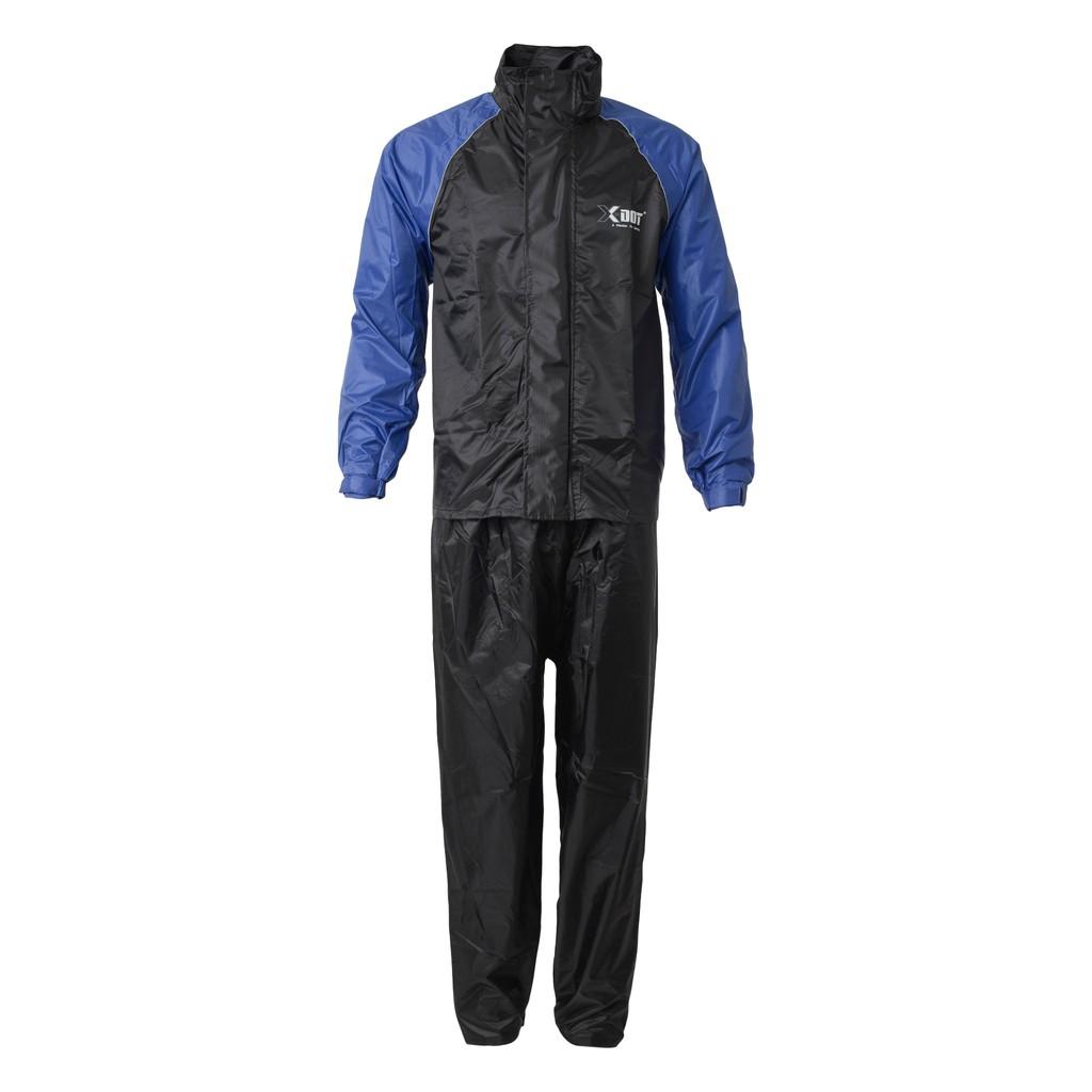 Raincoat Motorcycle X-DOT RC03 Rain -Tech (BLUE)