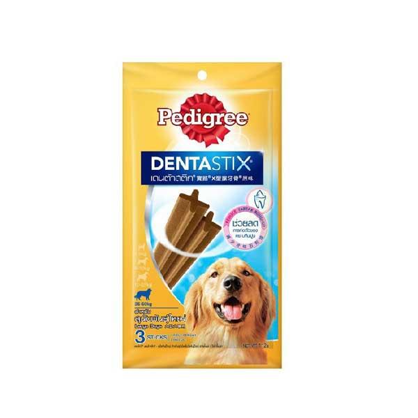 เพดดิกรี®ขนมสุนัข เดนต้าสติก สุนัขพันธุ์ใหญ่ 112กรัม 1 ถุง