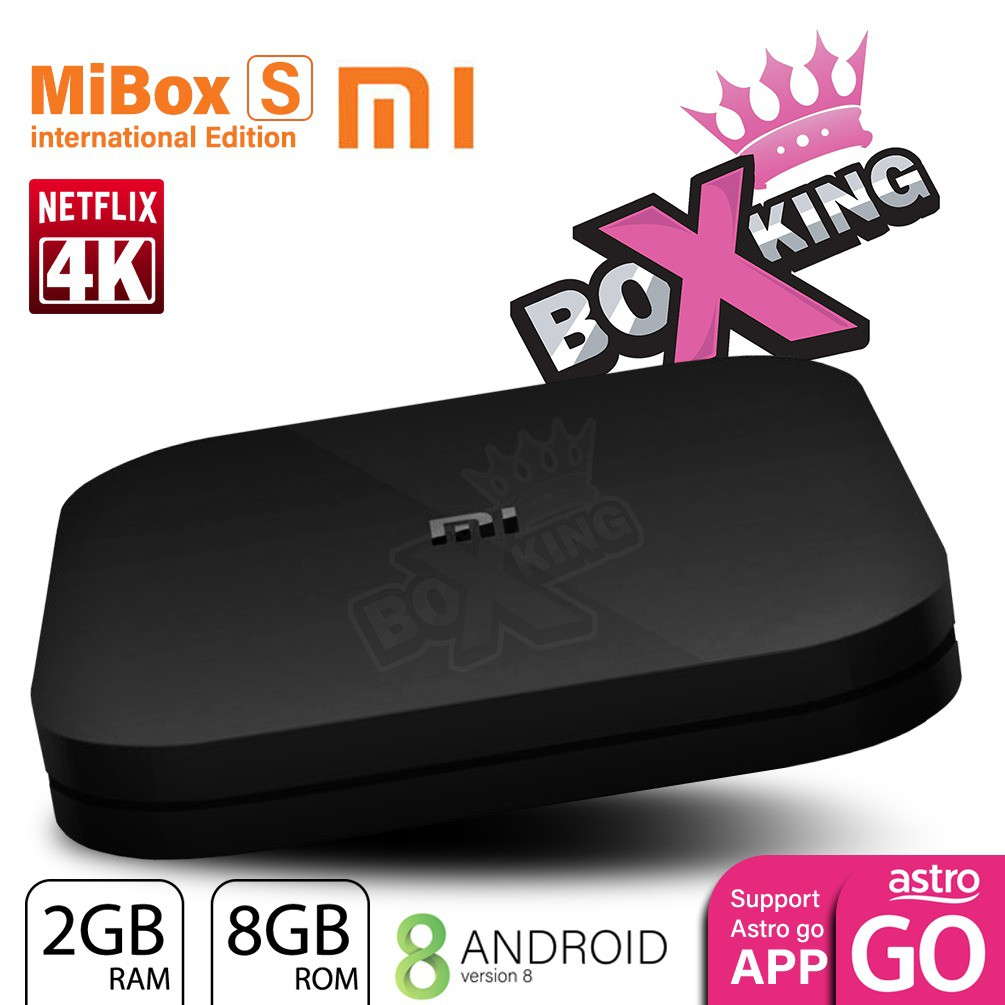 Pre-Install Apps Xiaomi Mi Box S Smart WIFI Bluetooth 4K HDR Android 8 0 TV  Box