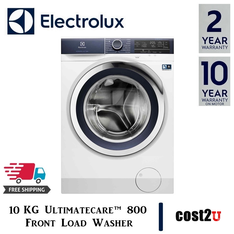 ELECTROLUX 10KG ULTIMATECARE™ 800 FRONT LOAD WASHER WITH CONNECTIVITY | EWF1042BDWA