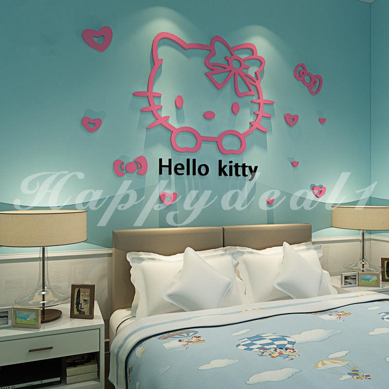 Wall Paper Festival Decal Hello Kitty