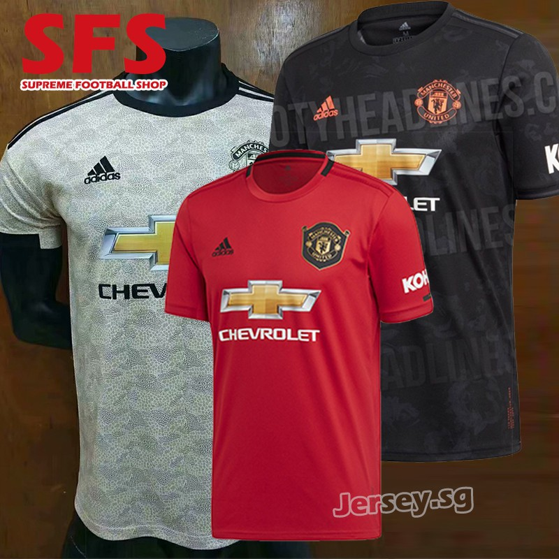 Top Quality Manchester United Football Jersey Tshit Men 1920