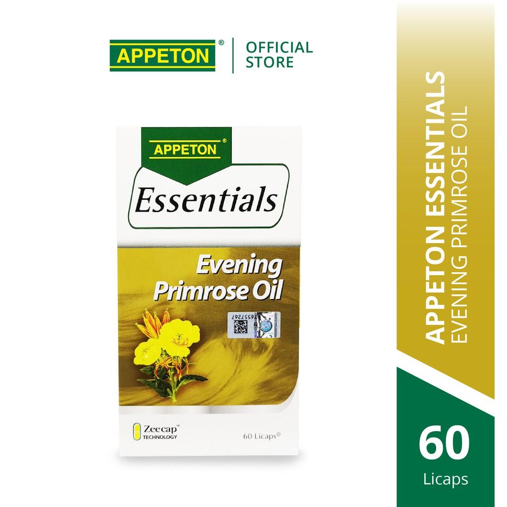 APPETON Essential Evening Primrose Oil for Women Health & Skin (60's x 450mg)