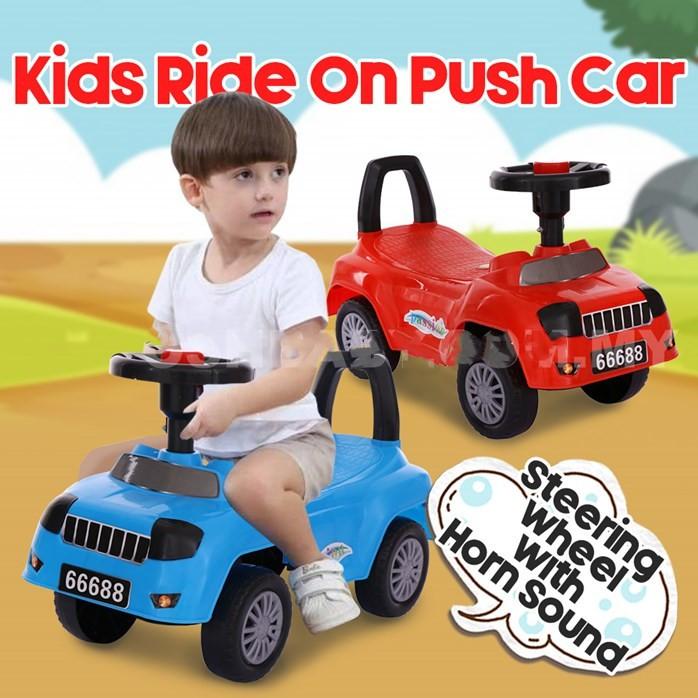 MALAYSIA 0: KERETA KAYUH KANAK-KANAK BOLEH NAIK / PUSH CAR EASY TO DRIVE