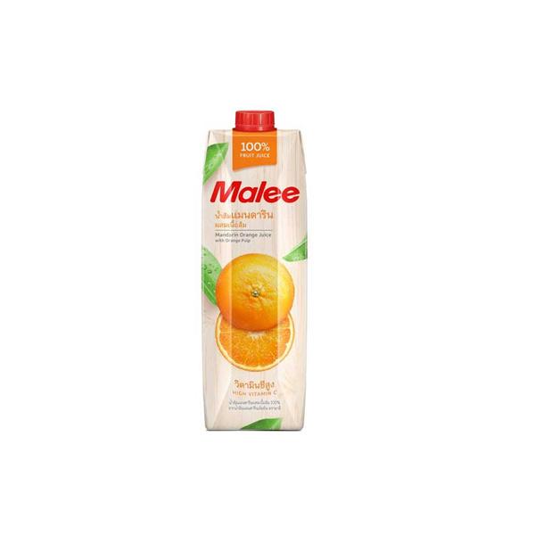 MALEE น้ำผลไม้ 100% ขนาด 1000 มล. (เลือกรสได้)