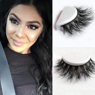 a87b963d6fd 3D Lashes Mink Natural Thick False Fake Eyelashes Eye Lashes Makeup  Extension