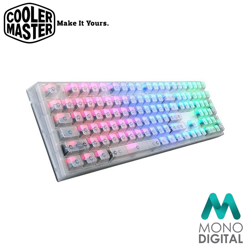 d18863aa5fa Cooler Master MasterKeys Pro L Intelligent RGB Crystal Edition (Blue Switch)