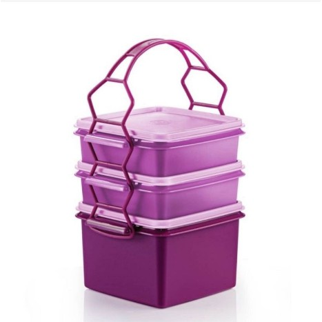 Tupperware Double Deep with Cariolier SET