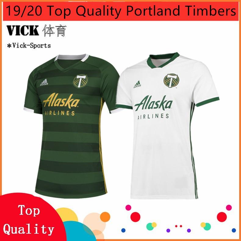 new product 5fb7b 3112c 2019/2020 Next Season Portland Timbers Home Away Football jersey Training  shirt