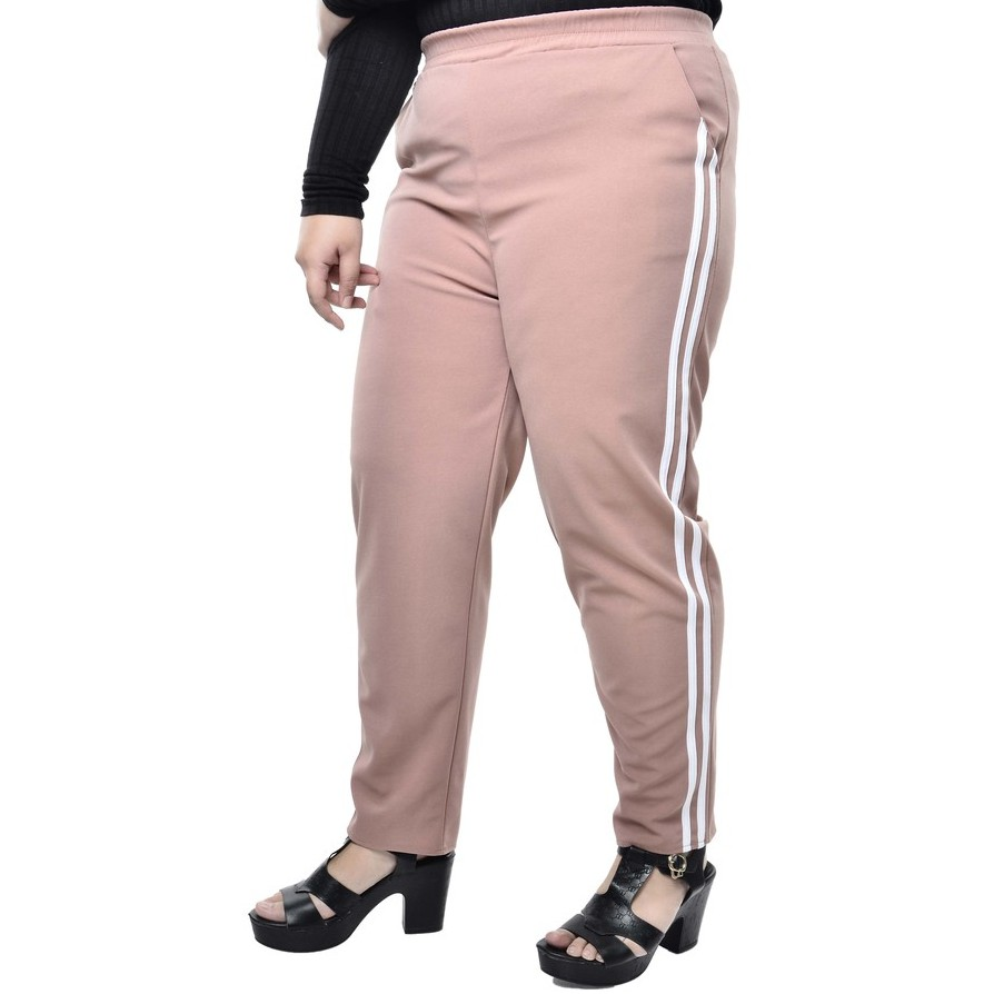 6630 [VIEW] PLUS SIZE MUSLIMAH ATTITUDE LONG PANTS
