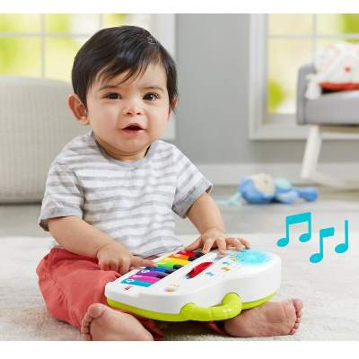 Fisher-Price: Laugh & Learn - Silly Sounds Light-Up Piano