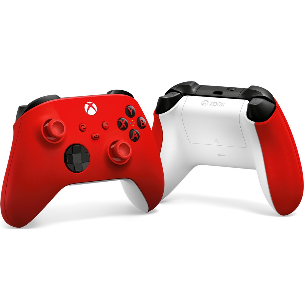 Authentic Microsoft Xbox Wireless Controller Textured triggers and bumpers I Hybrid D-pad I Button mapping I Bluetooth®