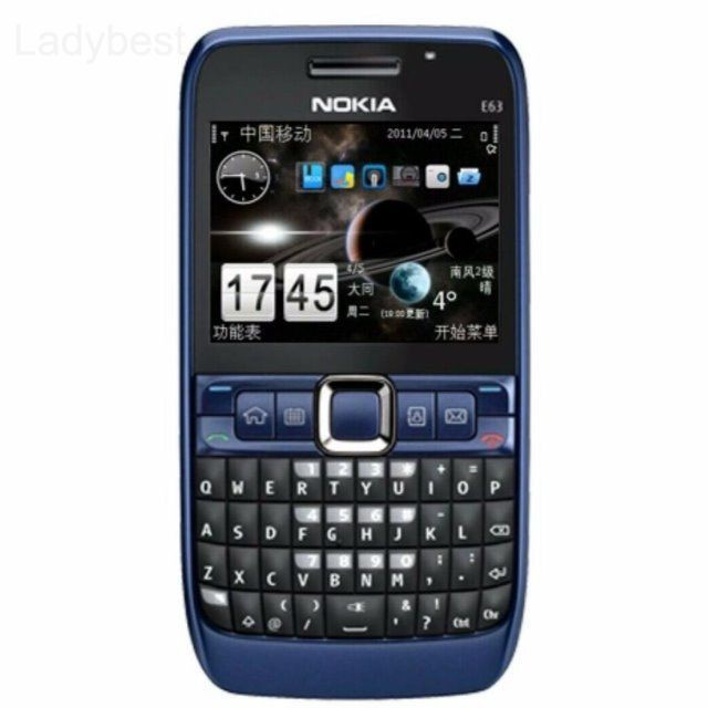 Nokia E63 full keyboard Saipan smart collection students straight standby mobile phone LDBS