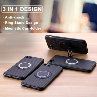 timeless design 17e77 5896a iPhone 5 5S SE 6 6S 7 8 Plus IFACE Magnetic Ring Holder Stand Case ...