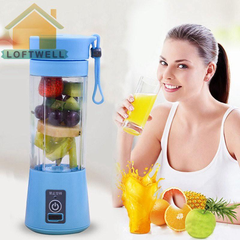 USB Rechargeable Juicer Bottle Cup Juice Blender