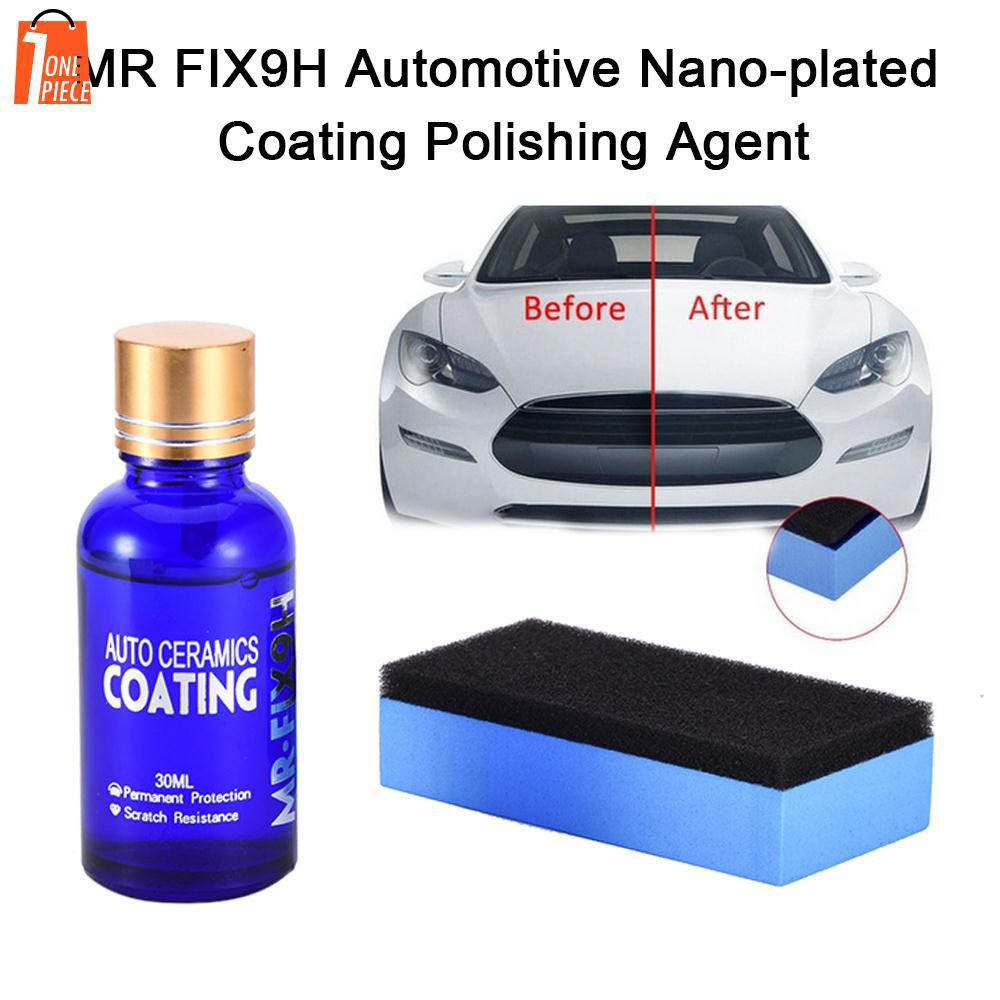Back To Search Resultsautomobiles & Motorcycles Nano Plastic Plating Car Oxidation Liquid Ceramic Coat 30ml 9h Super Hydrophobic Glass Coating Set Car Beauty A3