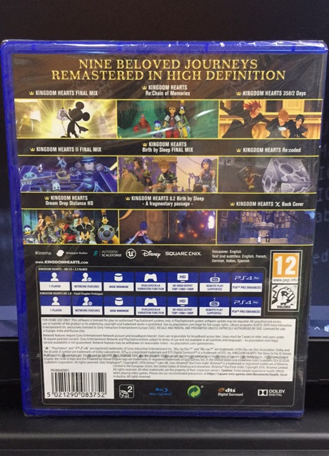 Ps4 - Kingdom Hearts : The Story So Far (R2)   Shopee Malaysia