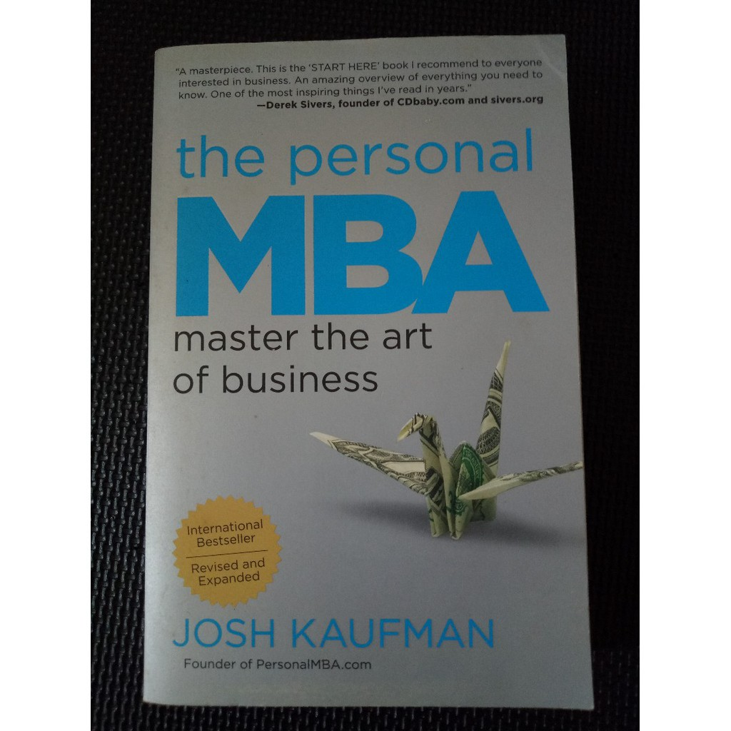 The Personal MBA Master the Art of Business by Josh Kaufman