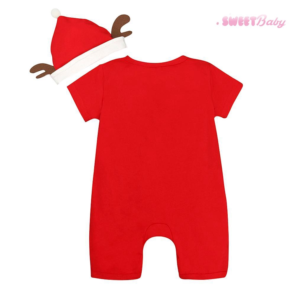 """RED Baby My First Christmas XMAS /""""SNOWMAN/"""" One Piece Outfit Creeper"""