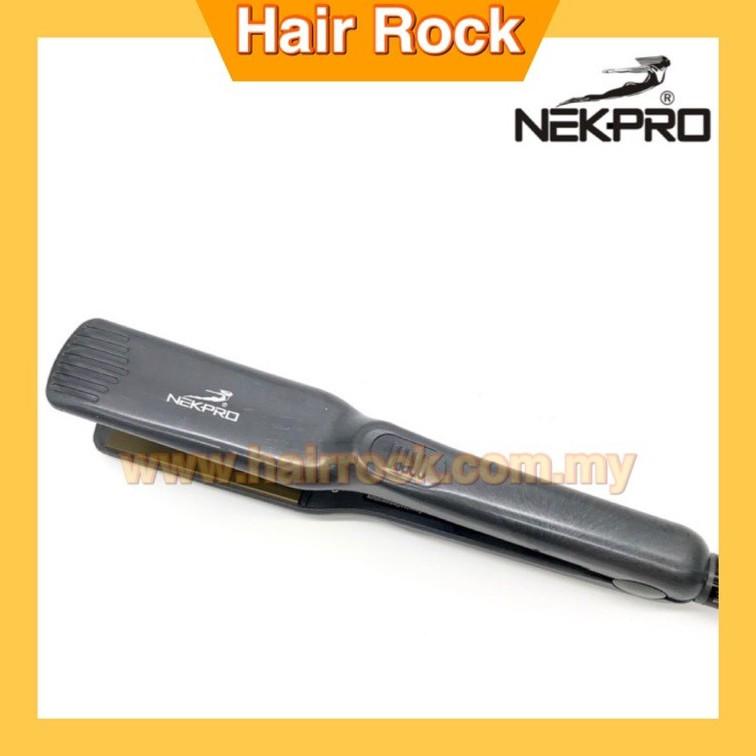 NEKPro Professional Ceramic Hair Straightener Hair Iron 1023