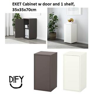 Ready Stock Ikea Eket Cabinet W Door And 1 Shelf 35x35x70cm