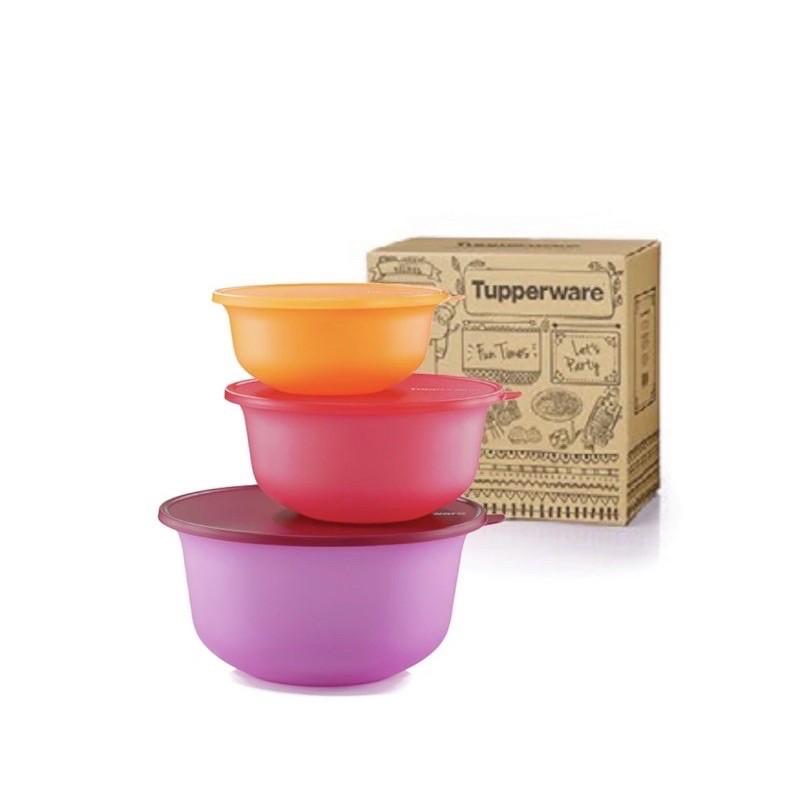 Tupperware Aloha Bowl Set + PWP Handy Fancy