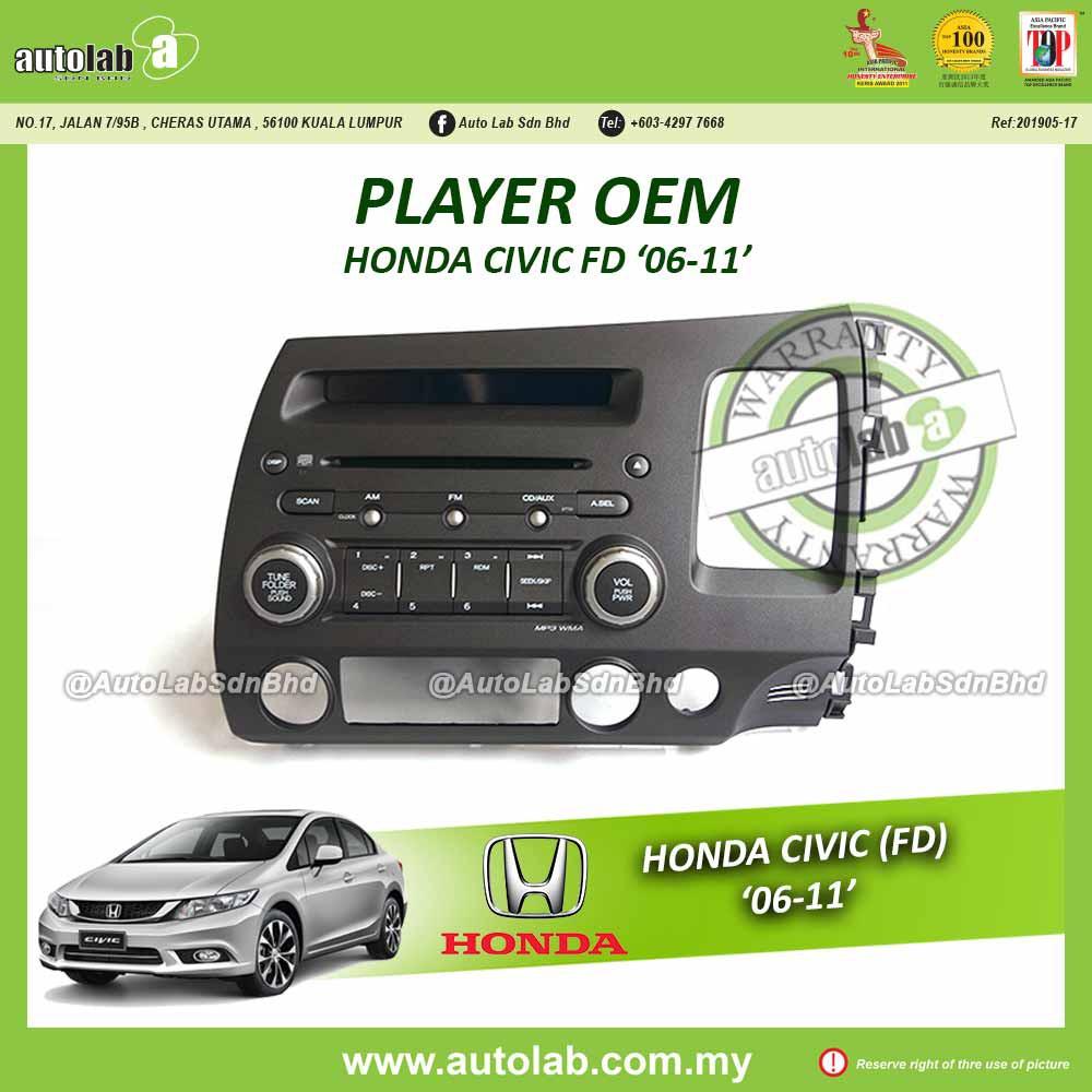 Player OEM Honda Civic FD '06-11'