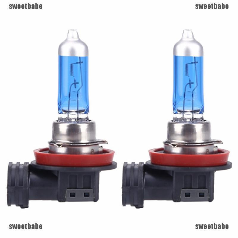 2X H11 12V 55W Super Bright White Fog Halogen Bulb Car Auto Head Light Lamps HOT