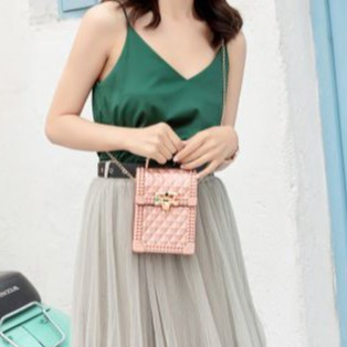 Beg Perempuan Women Ladies Sling Bag Korea Style Premium Elegant Type Shoulder Bag 女孩宝箱款斜背包 B00115