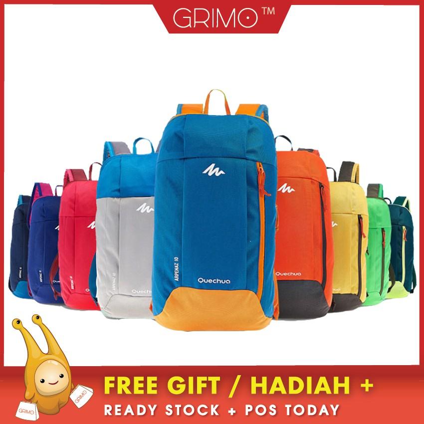 988253ca6eb Arpenaz 10 Quechua Kids Adults Outdoor Backpack Daypack Mini Small Bookbags  10L | Shopee Malaysia