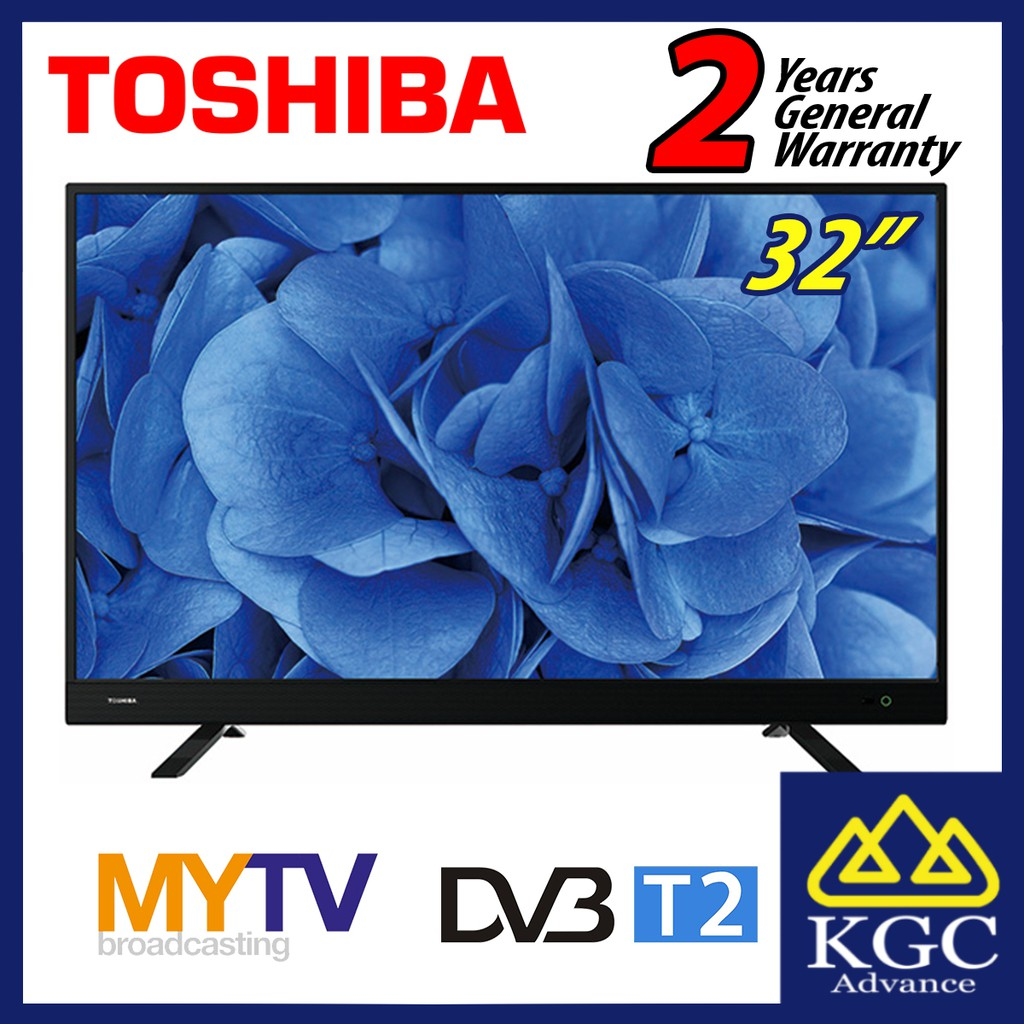 "Toshiba 32"" DVBT2 HD LED TV 32L3750VM"