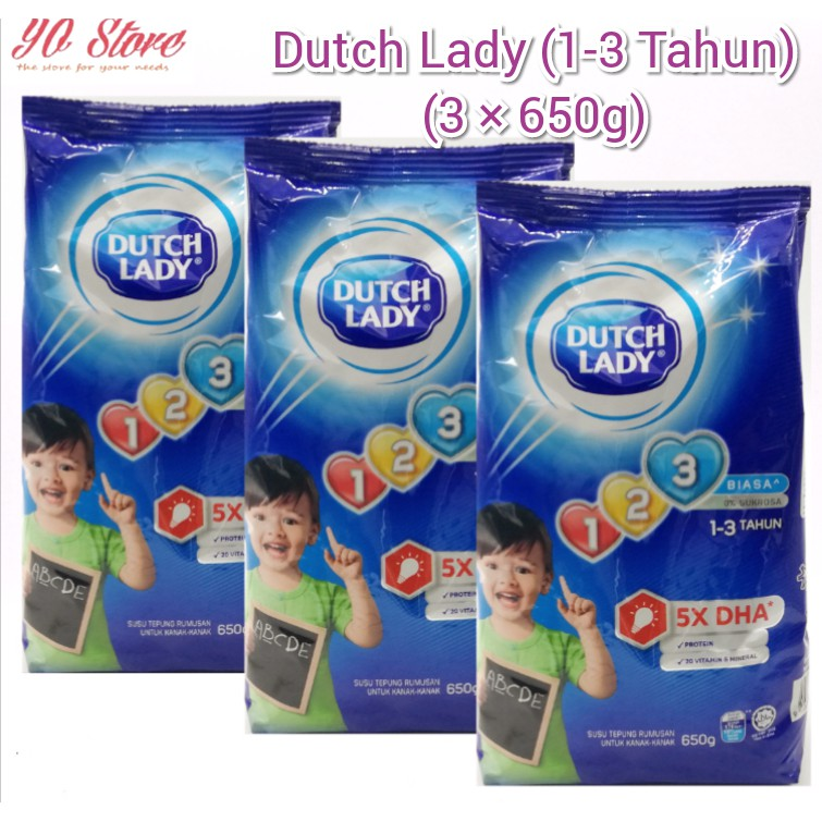 Dutchlady 1-3years old 600gmx3