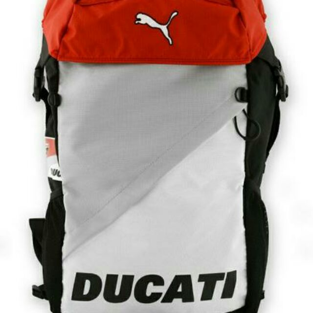 84386b98be21 READY STOCK DUCATI PUMA MOTORCYCLE BACKPACK RIDING GEAR TRAVELLING BAG  24.5L