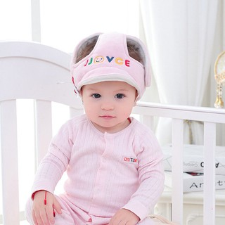 4a22952ab Baby Kids Anti-fall Head Protection Hat Infant Safety Adjustable ...