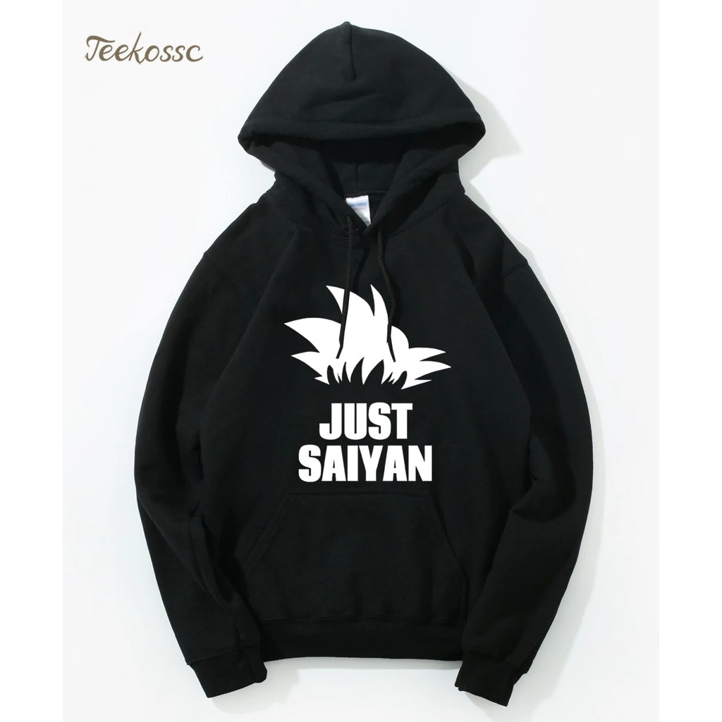Men's Clothing Saiyan Superhero Fashion Jacket Men 2018 Winter Fleece Brand Zipper Coat Harajuku Mens Hoodies Dragon Ball Z Anime Sweatshirt