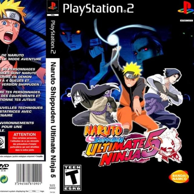 download game naruto ultimate ninja 5 ps2 for pc