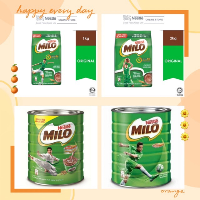 it chocolate 尺码_milo soft pack 2kg/milo tin 1.5kg (expire 2021) | Shopee Malaysia