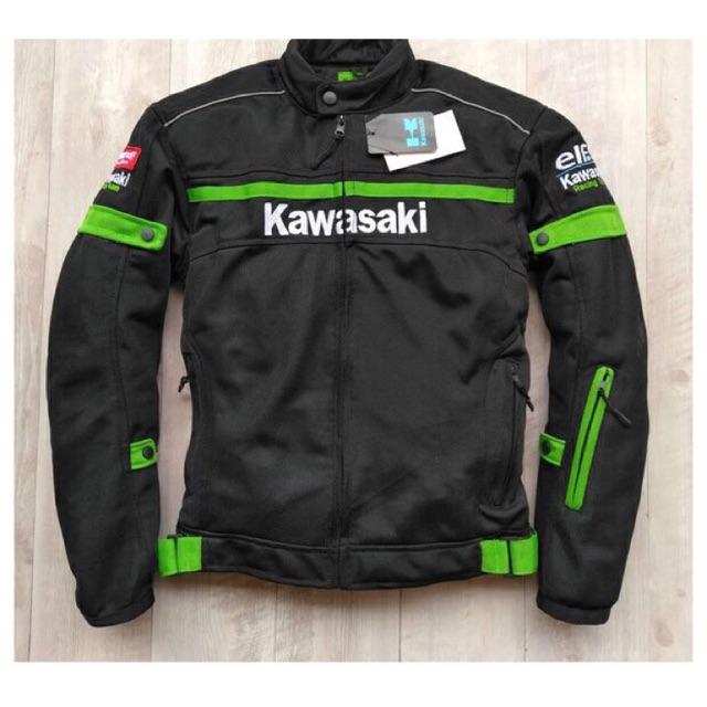 Racing Car Jacket mens Custom Motorcycle warm For kawasaki moto riding clothing