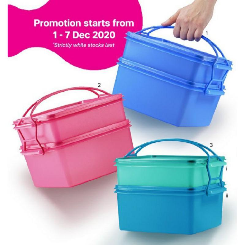 ⚡DEALS⚡Tupperware Jumbo Goody Box with Carolier #readystock
