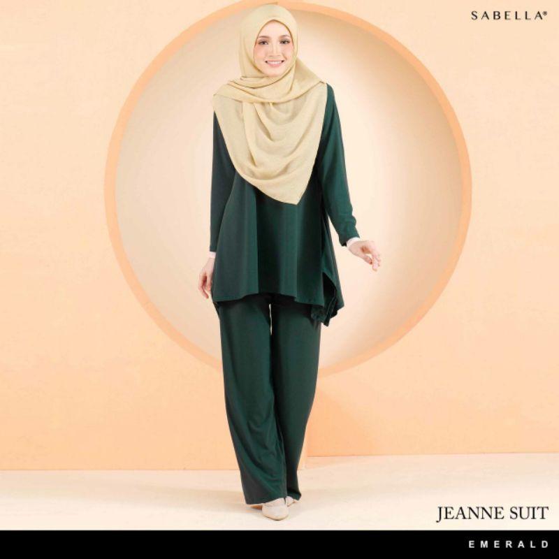 Sabella Jeanne Suit (Ready Stock)