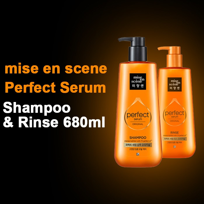 Mise En Scene Scalp Care Mild Shampoo 680ml  2d53540019