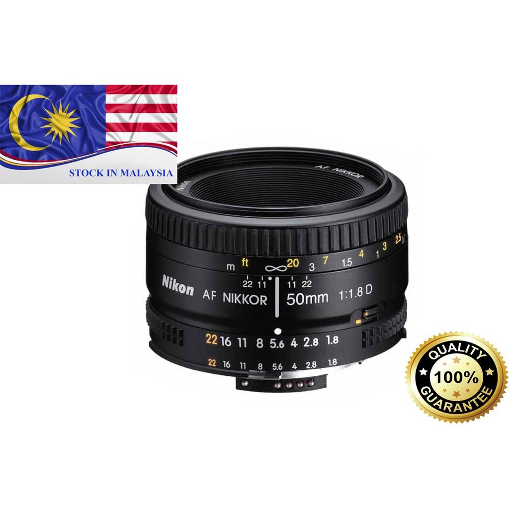 New AF Nikkor 50mm f/1.8D Nikon Lens (Nikon Malaysia)