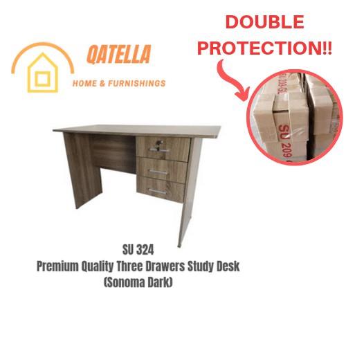 DIY 书桌/学习桌/读书桌/Premium Wooden Writing Study Table/Study Desk/Workstation/Meja Belajar (SU 324)