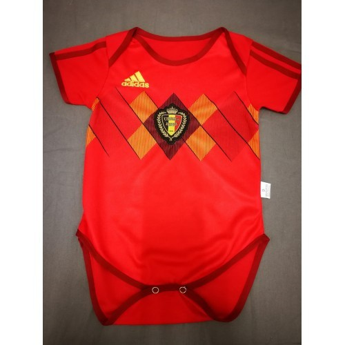 Belgium Infant Home World Cup 2018 CLIMALITE Fans Jersey