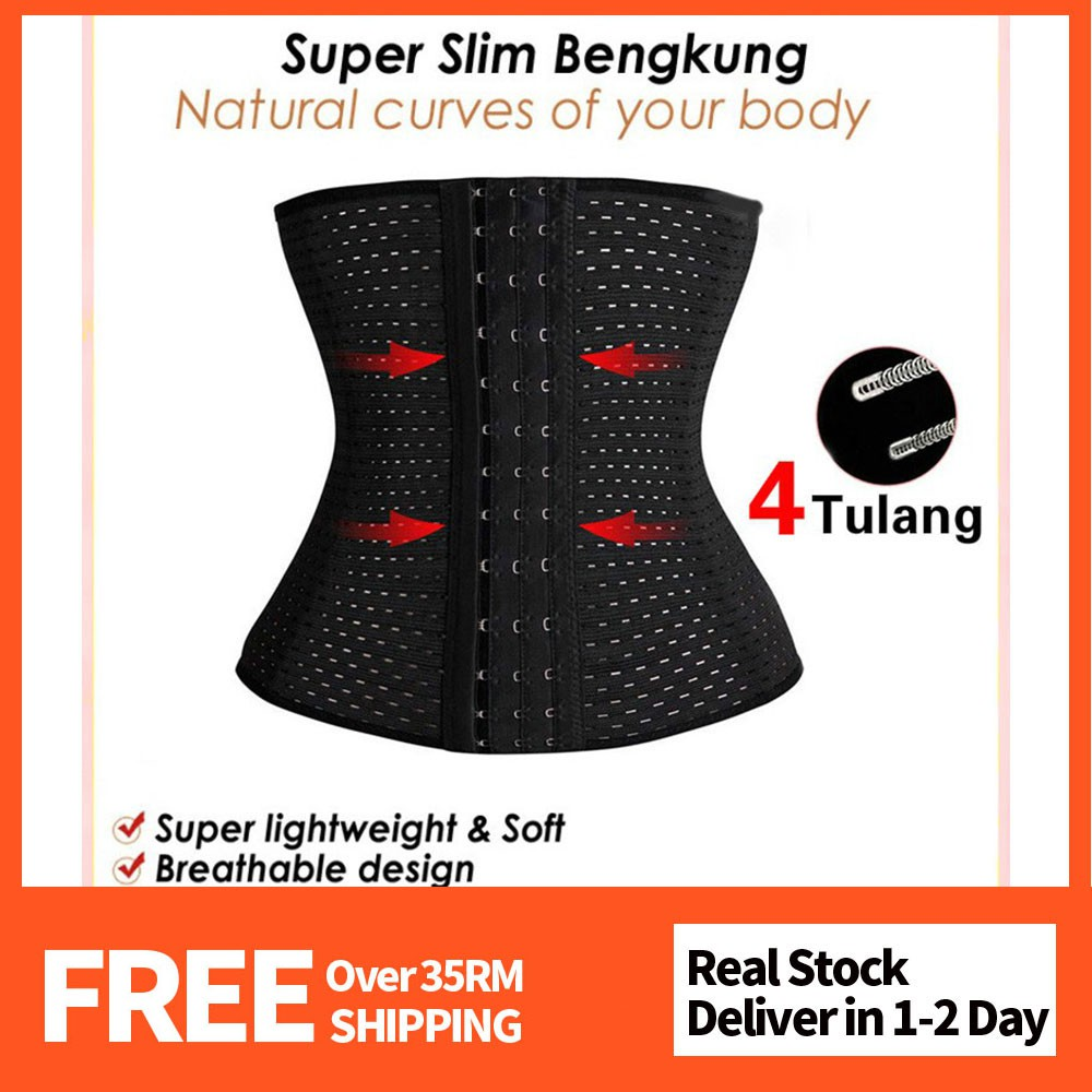 61f2fa1e66e9e MISSMOLY Ready Stock BENGKUNG Corset Tummy Control Body Shaping Waist Belt
