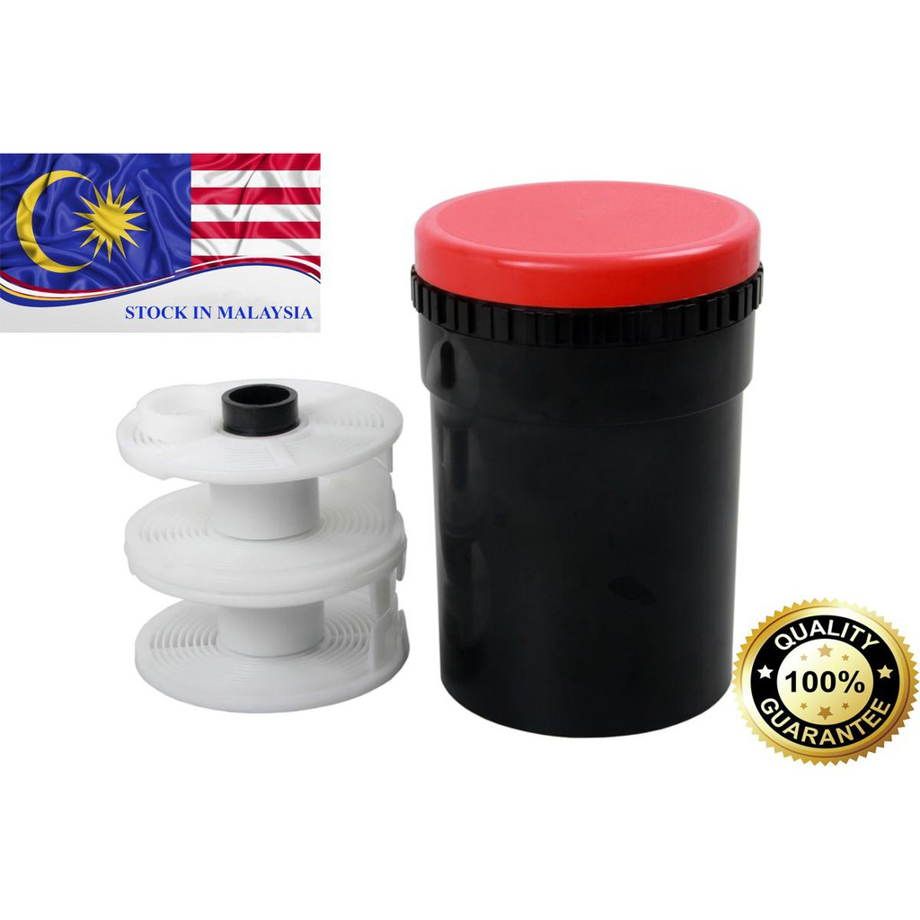 Universal Developing Tank With Two Reels (Ready Stock In Malaysia)