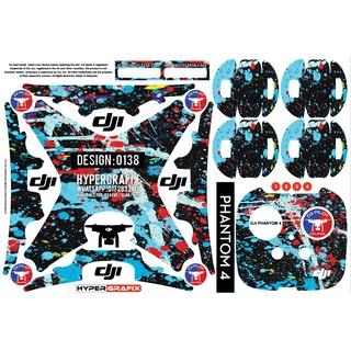 Vinyl skin sticker DJI mavic pro 3M shark accessory quad drone spark phantom 4