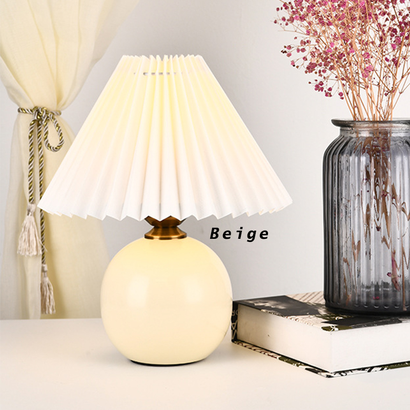 GDeal Decorative Living Room Bedroom Mini Modern DIY Bedside Table Lamp Lampu Tidur